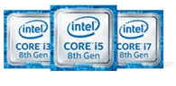 intel CORE i3 8th Gen,intel CORE i5 8th Gen,intel CORE i7 8th Gen