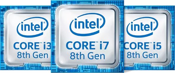 intel core i7 8th Gen, intel core i5 8th Gen, intel core i3 8th Gen