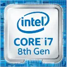 intel CORE i7 8th Gen